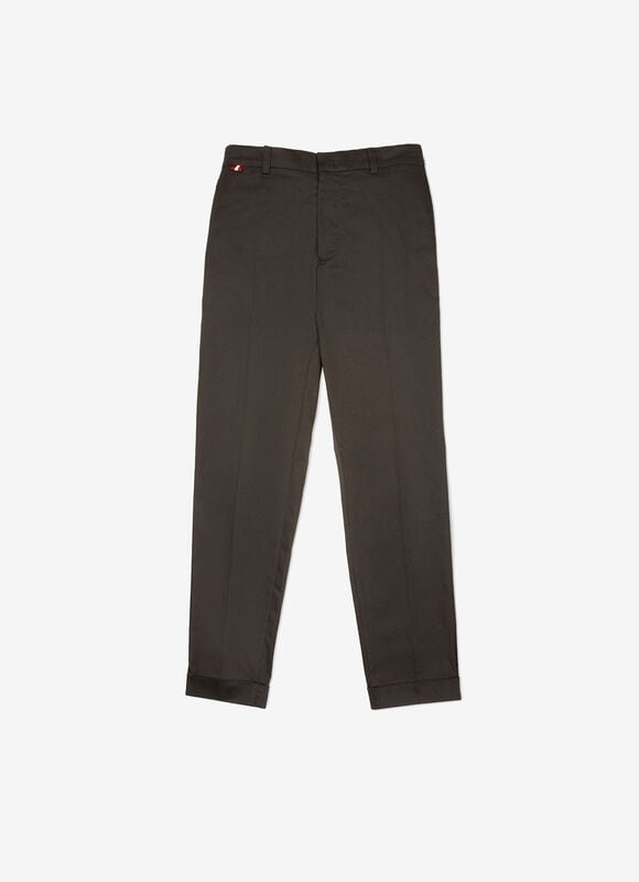 BLACK MIX COTTON Pants - Bally