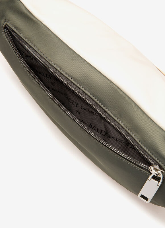 GREY NYLON Belt Bags - Bally