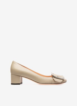 GREY CALF Pumps - Bally