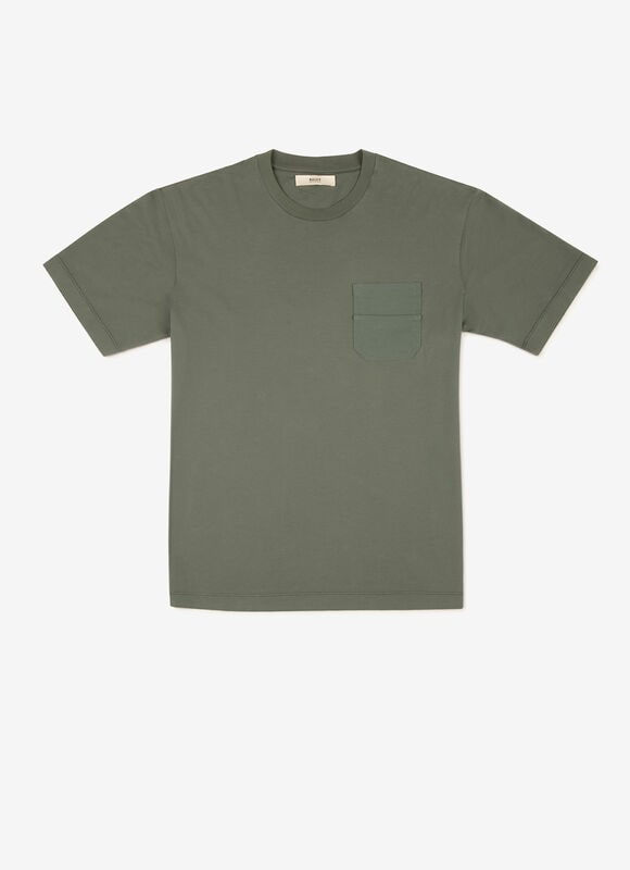 GREEN COTTON Shirts and T-Shirts - Bally