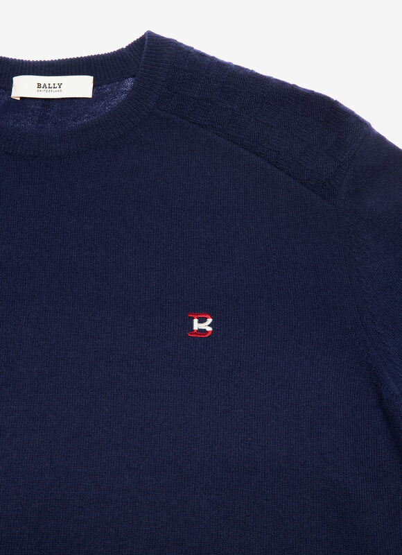 BLUE MIX WOOL/CASHMERE Knitwear - Bally