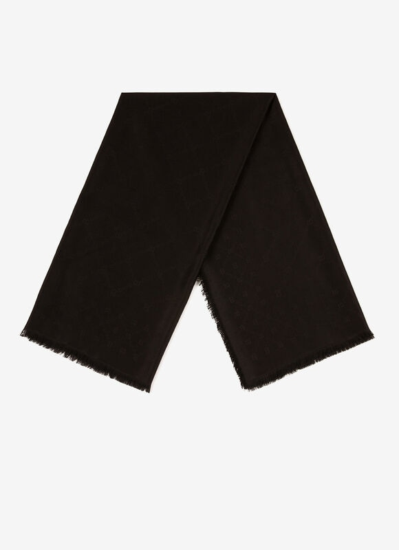 BLACK MIX WOOL/SILK Scarves - Bally