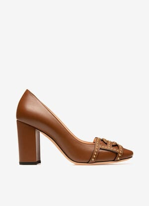 BROWN CALF Pumps - Bally