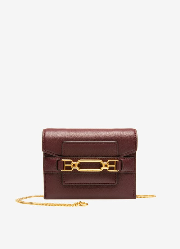 BURGUNDY BOVINE Small Accessories - Bally