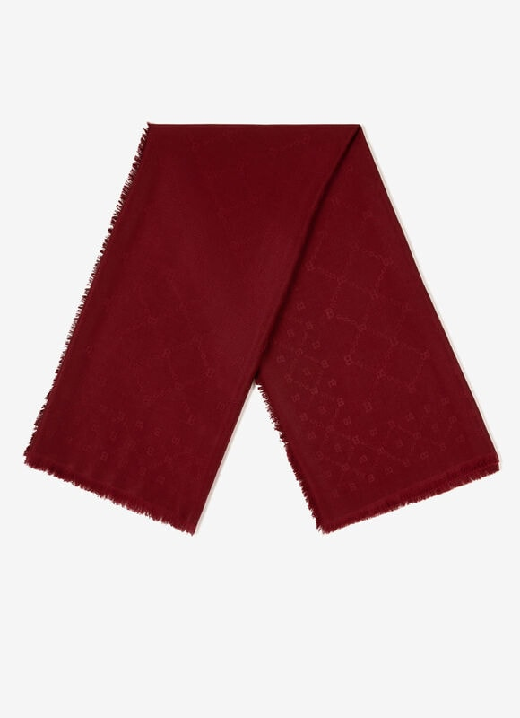 BURGUNDY MIX WOOL/SILK Scarves - Bally