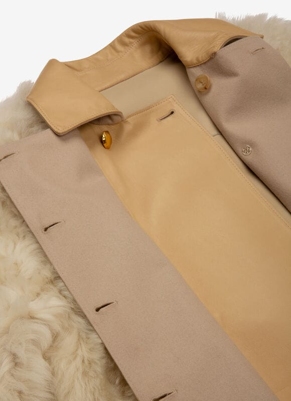 NEUTRAL LAMB Leather - Bally