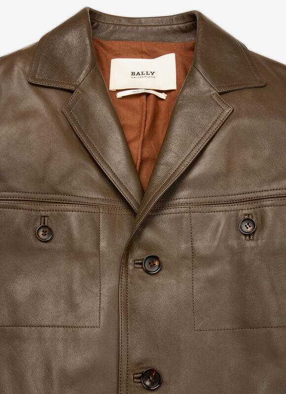 GREEN LAMB Leather - Bally