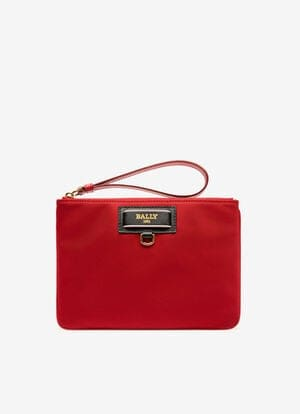 RED NYLON Small Accessories - Bally