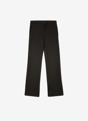 BLACK MIX VISCOSE Pants - Bally