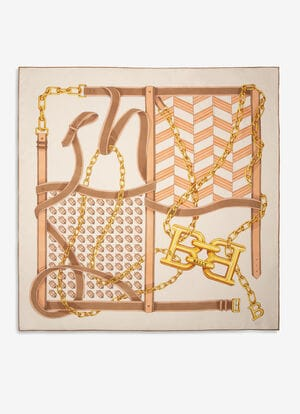 BROWN SILK Scarves - Bally