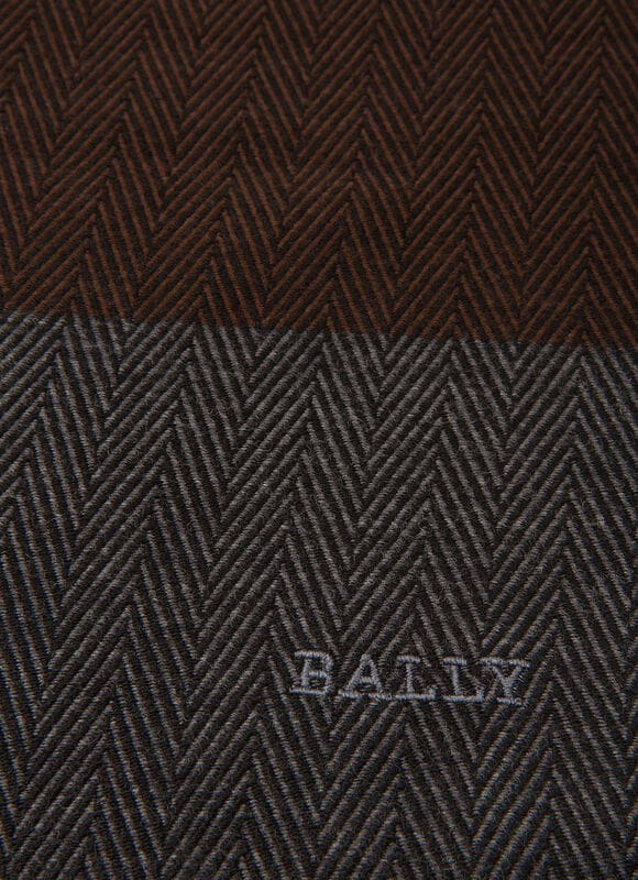 GREY MIX COTTON Scarves - Bally