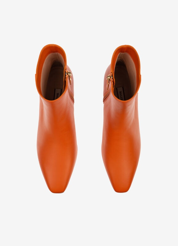 ORANGE CALF Boots - Bally