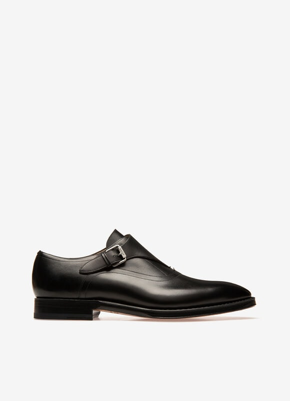 BLACK CALF Lace-Ups and Monks - Bally