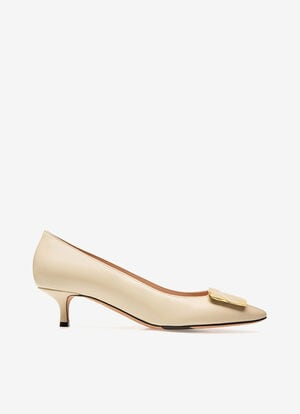 WHITE LAMB Pumps - Bally