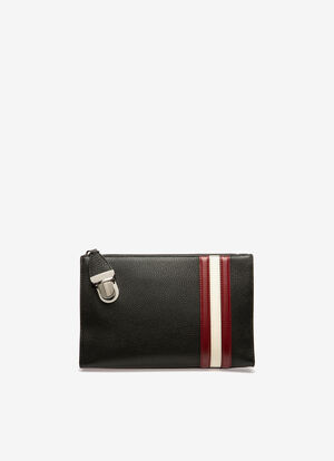 BLACK CALF Clutches and Portfolios - Bally