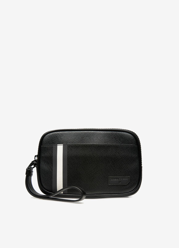 BLACK SYNTHETIC Clutches & Portfolios - Bally