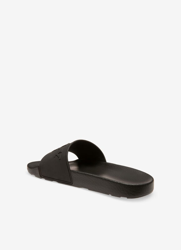 BLACK RUBBER Sandals and Slides - Bally