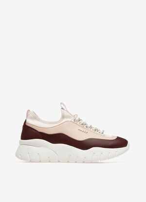 BURGUNDY CALF Sneakers - Bally